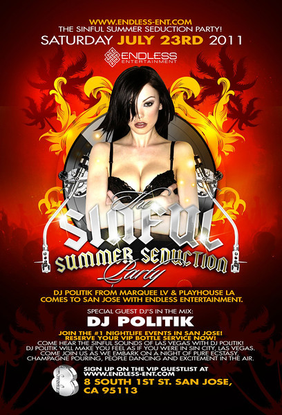 7/23 [Summer seduction@Studio 8]