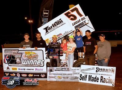 Sharon Speedway - All Star Sprints - 7/12/20 - Tommy Hein