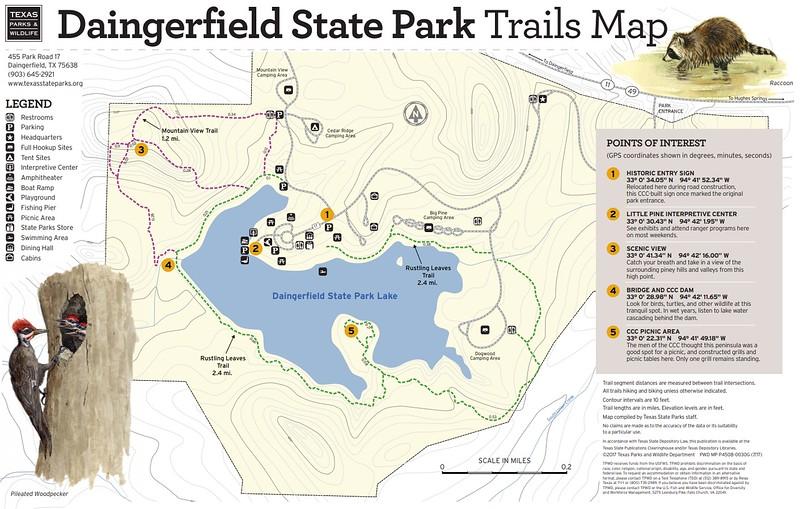Daingerfield State Park (Trails)