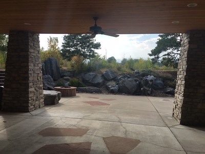New patio shots