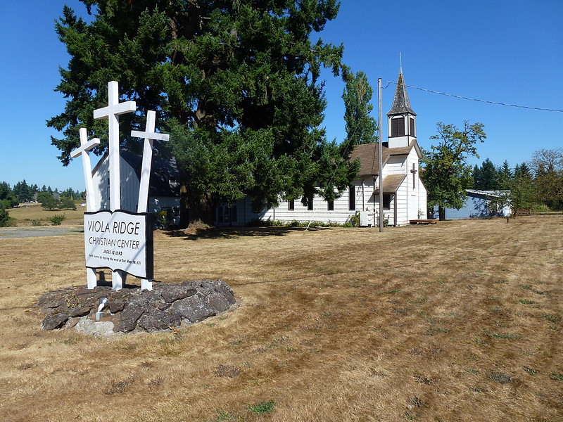 Country Church not far from First Cache Placed
