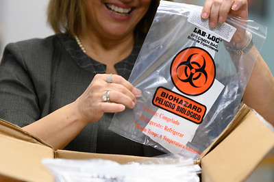040920 COVID-19 Test Kits arrive at Texas A&M-Corpus Christi