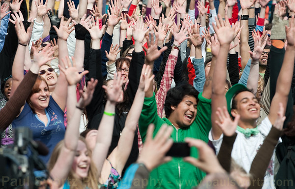 Glee Flash Mob Seattle
