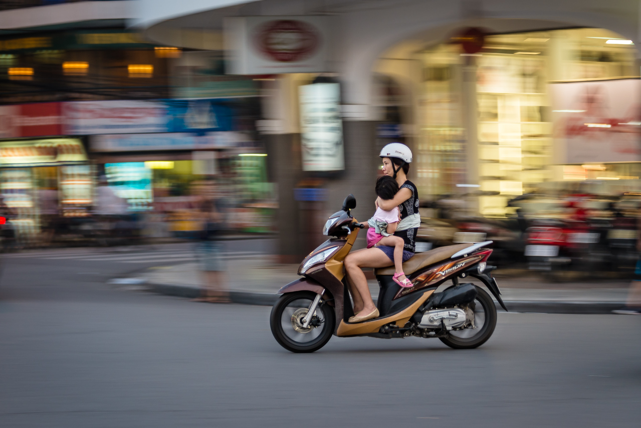 panning photography technique
