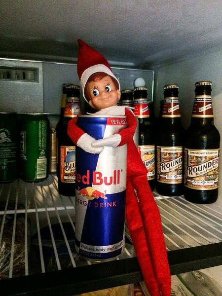 2014.12.12 - Ellken, the elf on a shelf