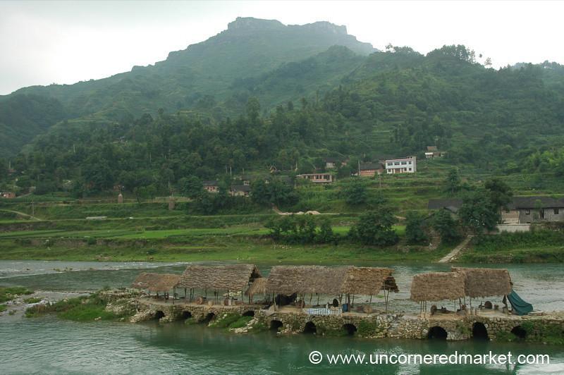 Lush Guizhou Province Countryside, China