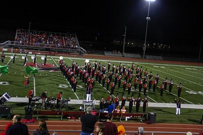20120914 Football Band Performance