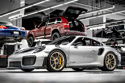 Porsche GT2RS Delivery