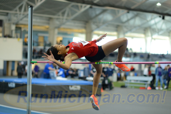 Women's High Jump - 2020 GLIAC Indoor T&F