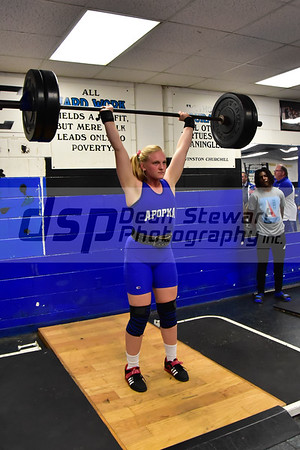Girls Weightlifting 11-28-18