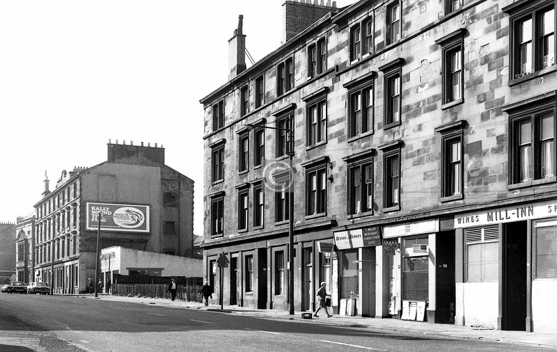 Pollokshaws Rd, west side, south of Devon St. 