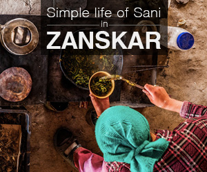 Simple life of the people of Zanskar
