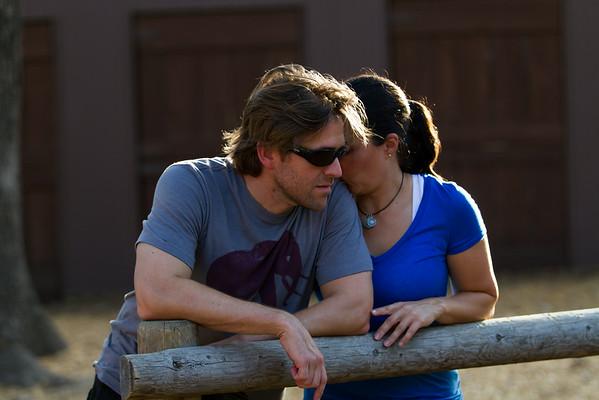 Rob and Erika - Paramount Ranch