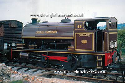 London Transport (Steam & Electric locos)