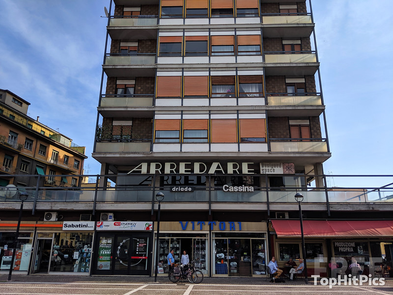 The Arredare Building in Terni, Italy