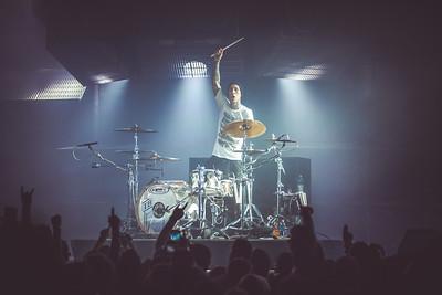 Blink 182 at Hollywood Casino Amp 9/14/19