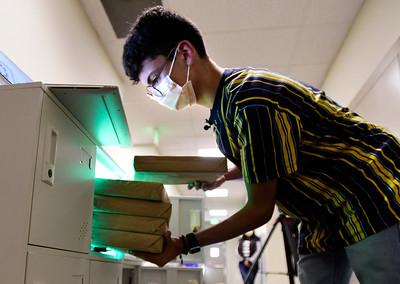 Photos: Kenner Galdamez Sosa Creates COVID-19 Test Kit Locker System