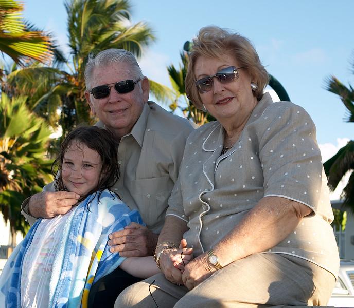 Abuelo and Abuela with Natalia
