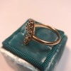 Victorian Turquoise and Diamond Navette Ring 9