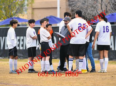 1-21-2020 - Northwest Christian v Wickenburg - Boys soccer