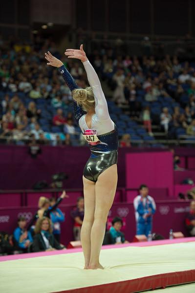 Annika Urvikko at London olympics 2012__29.07.2012_London Olympics_Photographer: Christian Valtanen_London_Olympics_Annika Urvikko at London olympics 2012_29.07.2012__ND49943_Annika Urvikko, finnish athlete, gymnastics