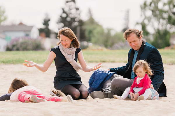 Candid Family Shoot