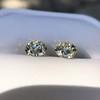 3.40ctw Old European Cut Diamond Pair 22