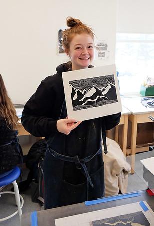 Printmaking Class 2-25-19