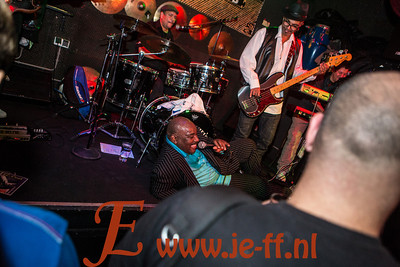 2012-11-17 G-COOL and the Brothers in Bourbonstreet Amsterdam