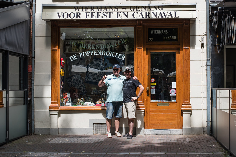 Day 7 - this store was our go-to for trouble... in Roermond, July 10th
