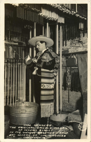 Olvera Street Candle Maker