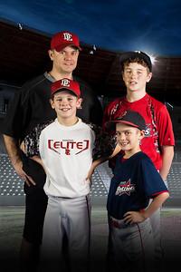 MULLINS FAMILY | baseball photos