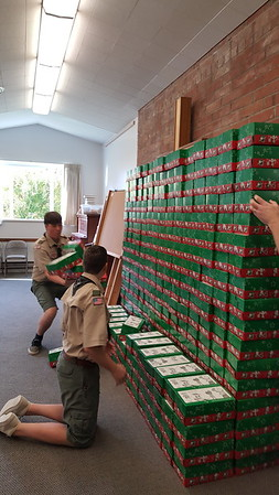 Operation Christmas Child - Oct 22