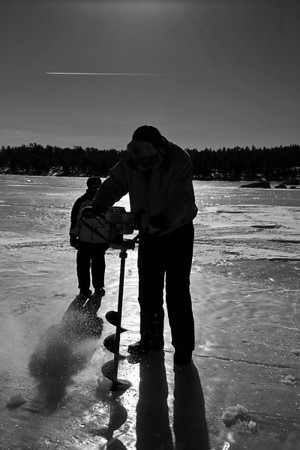 2014-01-18 - Abiding Love - Ice Fishing - Red Finger Lakes