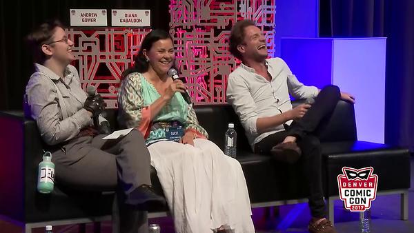 Panel with Diana Gabaldon