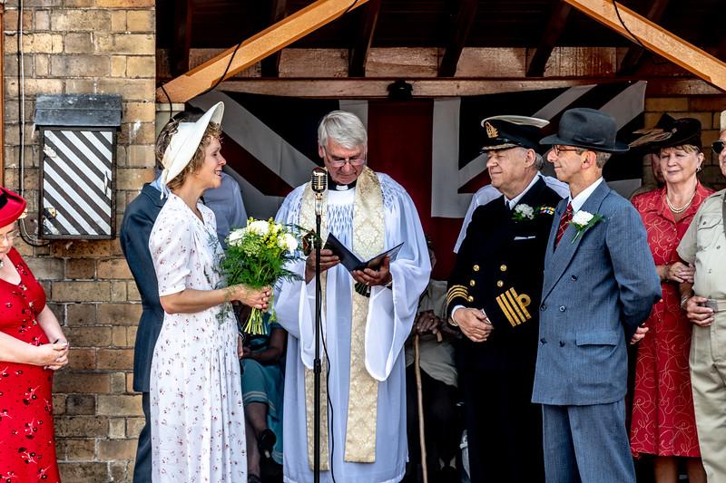 1940s wedding, Arley