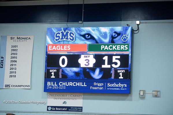 2018 SPS Coed VB vs St. Michael