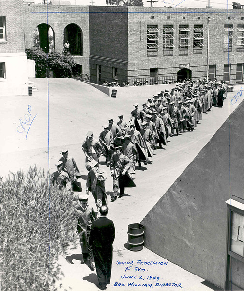 Activities 1949 Graduation Procession.jpg