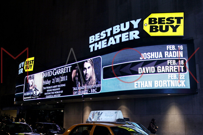 NEW YORK, NY - FEBRUARY 18:  Atmosphere at the David Garrett Meet and Greet Presented by Marantz at Best Buy Theater on February 18, 2011 in New York City.  (Photo by Steve Mack/S.D. Mack Pictures)