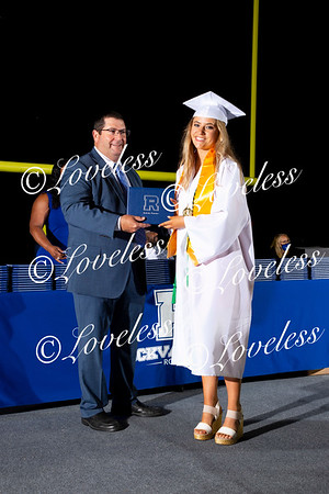 Class of 2021- Receiving Diplomas