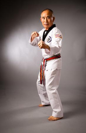 Grand Master Kwon for magazine