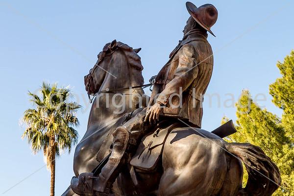 Tucson - Pancho Villa & Mormon Battalion Statues