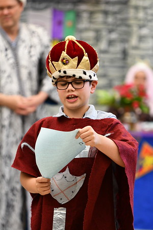Fifth-Grade Medieval Day Was a Royal Affair for All