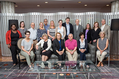 Group photos of Dr. Hopmann's CHHD-H Subcommittee