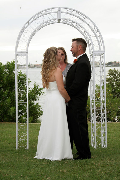 Outdoor Wedding On The Water