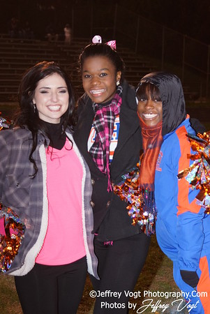 11-04-2011 Watkins Mill HS Band, Cheerleading, Senior Night, Poms, Photos by Jeffrey Vogt Photography