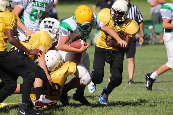 8th grade whites vs Wilson 8-29-19