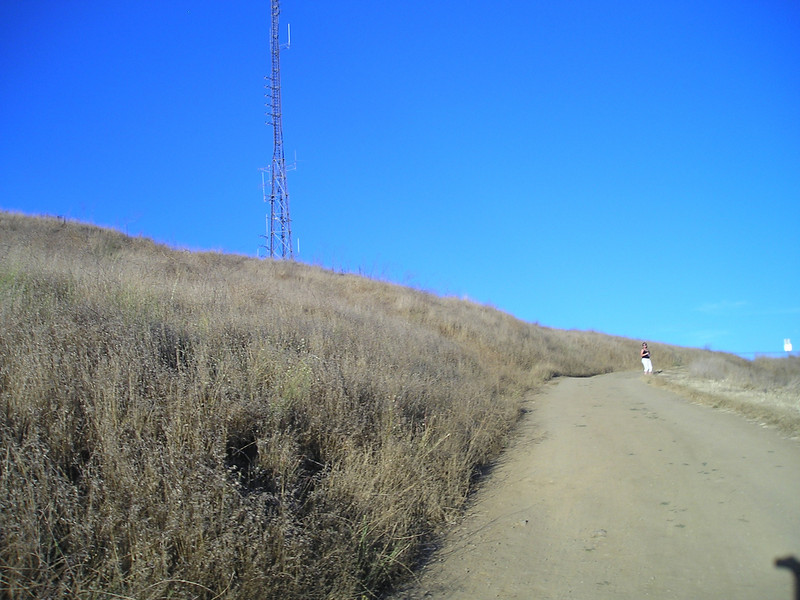 They are teasing us--the trail wraps around the peak with the top tantalizingly close.