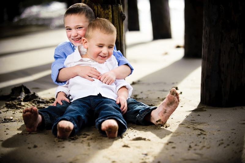 Logan > Ryder (Brothers) (Family Photography, Capitola)