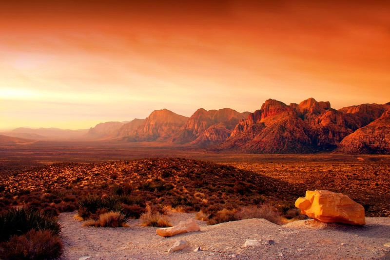 red rock canyon - things to do in nevada